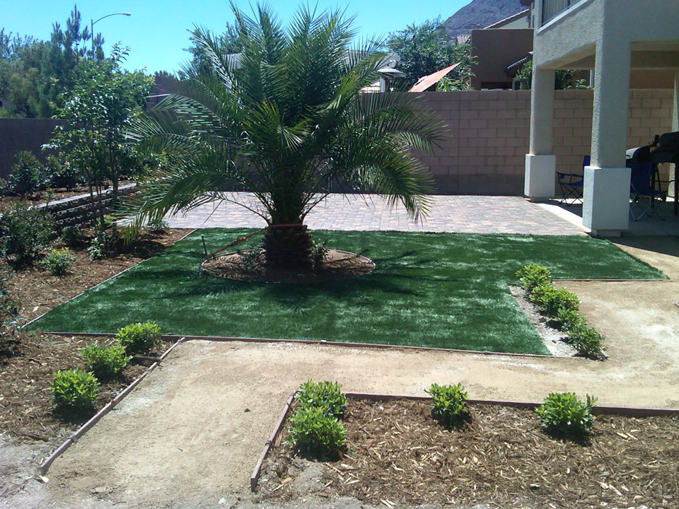 Custom backyard landscape design garcia landscaping for Custom landscaping