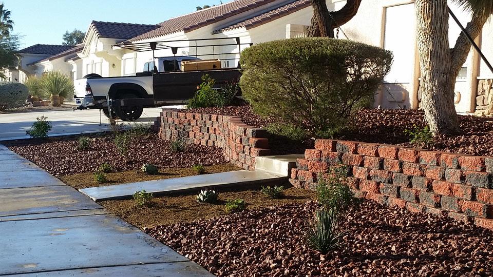 Front Yard Landscape Redesign Garcia Landscaping Amp Lawn