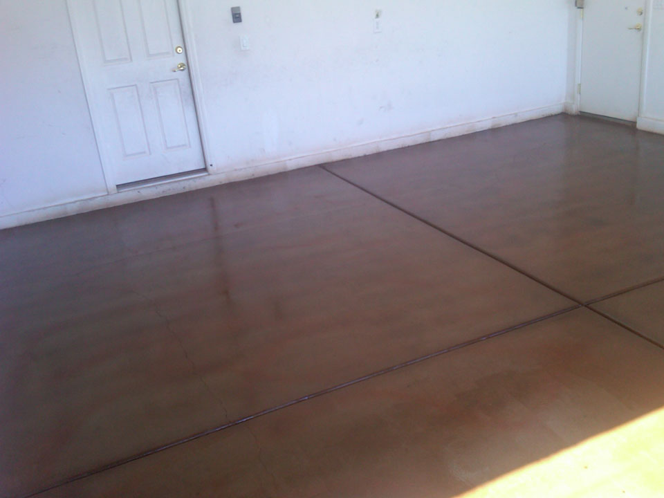 Stained Concrete Garcia Landscaping Amp Lawn Service