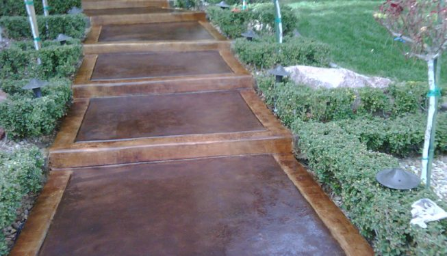 Stained Steps Garcia Landscaping Amp Lawn Service